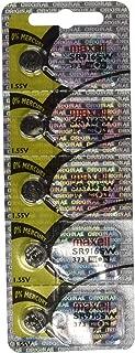 5pk Maxell SR916SW SR68 SR916 373 Silver Oxide Watch Battery