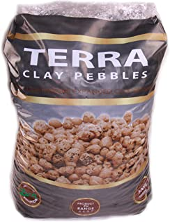 Terra Clay Pebbles Leca Expanded Clay Aggregate (25 Liters)
