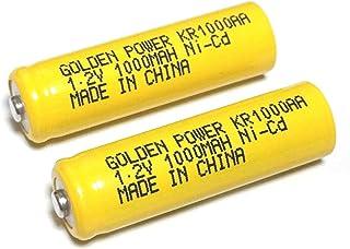 良いおすすめAAニッケルカドミウム電池(NiCd)KR1000AA ..と2021のレビュー