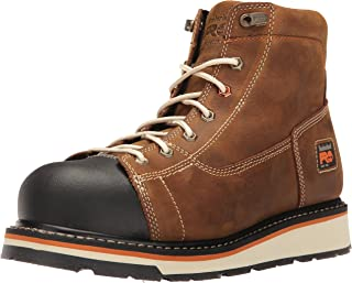 """Timberland PRO Men's Gridworks 6"""" Soft Toe EH Industrial and Construction Shoe"""