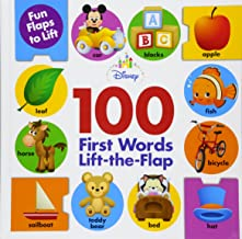 Disney Baby 100 First Words Lift-The-Flap