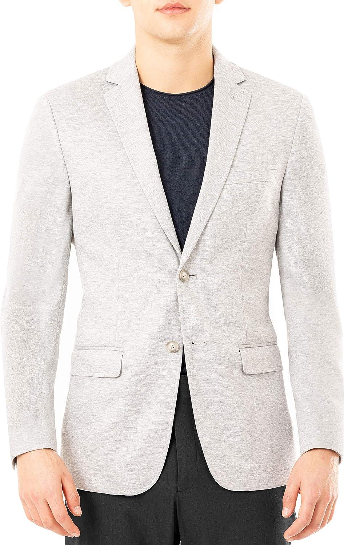 Van Heusen Men's Flex Performance Slim Fit Casual Knit Blazer, Gray, 40L