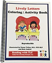 Reading with TLC - Lively Letters Reproducible Coloring Activity Book