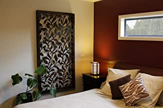 Natural Screens by Be Metal Be Vine Laser Cut Decorative Steel Screen / Panel