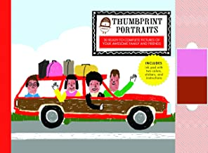 The Small Object Thumbprint Portraits: 30 Ready-to-Complete Pictures of Your Awesome Family and Friends