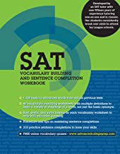 SAT Vocabulary Building and Sentence Completion Workbook