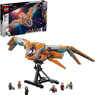 LEGO 76193 Marvel Het schip van de Guardians grote Avengers Galaxy Set, Ruimteschip Speelgoed met Thor & Star-Lord