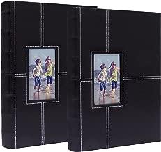 Álbum Fotográfico para 300 fotos, color negro, paquete de 2 Álbumes