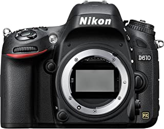 Nikon D610 24.3 MP Digital SLR Camera (Black) with Body Only