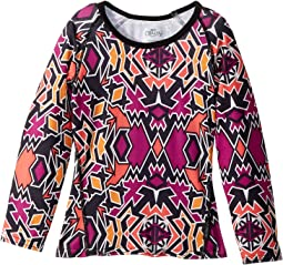 Hot Chillys Kids - MTF Print Crew Neck (Toddler/Little Kids/Big Kids)