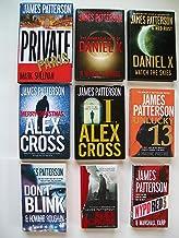 Private Paris; Daniel X; Merry Christmas Alex Cross; Unlucky 13; Don't Blink. (9 Set)