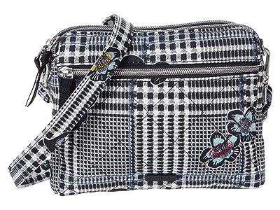 Vera Bradley Performance Twill RFID Medium Triple Compartment Crossbody (Bedford Plaid) Handbags