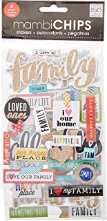 family stickers for scrapbooking