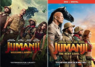 The Rock Taking The Ultimate Board Game Challenge: Jumanji Welcome To The Jungle + Jumanji The Next Level Family Action/ C...