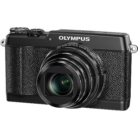 OLYMPUS コンパクトデジタルカメラ STYLUS SH-3 ブラック 光学式5軸手ぶれ補正 光学24倍&超解像48倍ズーム SH-3 BLK