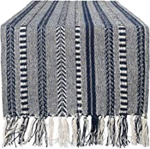 DII Braided Cotton Table Runner Perfect for Summer, Holiday Parties and Everyday Use, 15x108