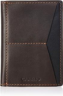 CAMELIO Brown Passport Wallet (CAM-WL-0030)