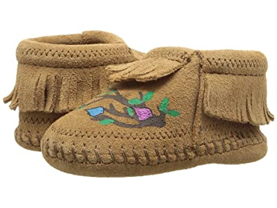 Minnetonka Kids Free Range Mama We Are Family (Infant) (Taupe) Kid