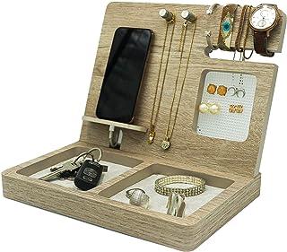 Regalo para mujer, regalo para mamá, organizador para celular, aretes, relojes, pulseras, anillos, monedas, collares, rega...