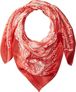 Brisband Paisley Silk Square Scarf