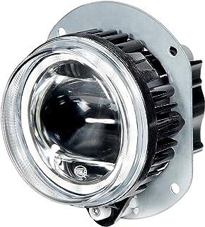 HELLA 1N0 011 988 011 DE/LED Nebelscheinwerfer   90mm Performance L4060   12/24V   rund   Einbau   Lichtscheibenfarbe: glasklar   Stecker: FEP   links/rechts   Menge: 1