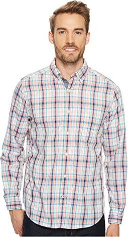 Nautica - Long Sleeve Tartan Plaid Shirt