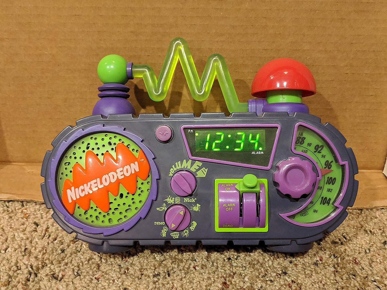 Nickelodeon Time Blaster AM/FM alarm clock Radio : Amazon.de: Home & Kitchen