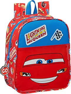 612111232 Mochila Infantil de Cars Mc Queen, 220x100x270mm