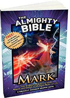 The Almighty Bible/Graphic Bible Book of mark Gospel of Mark Biblically Accurate Graphic Bible Paperback