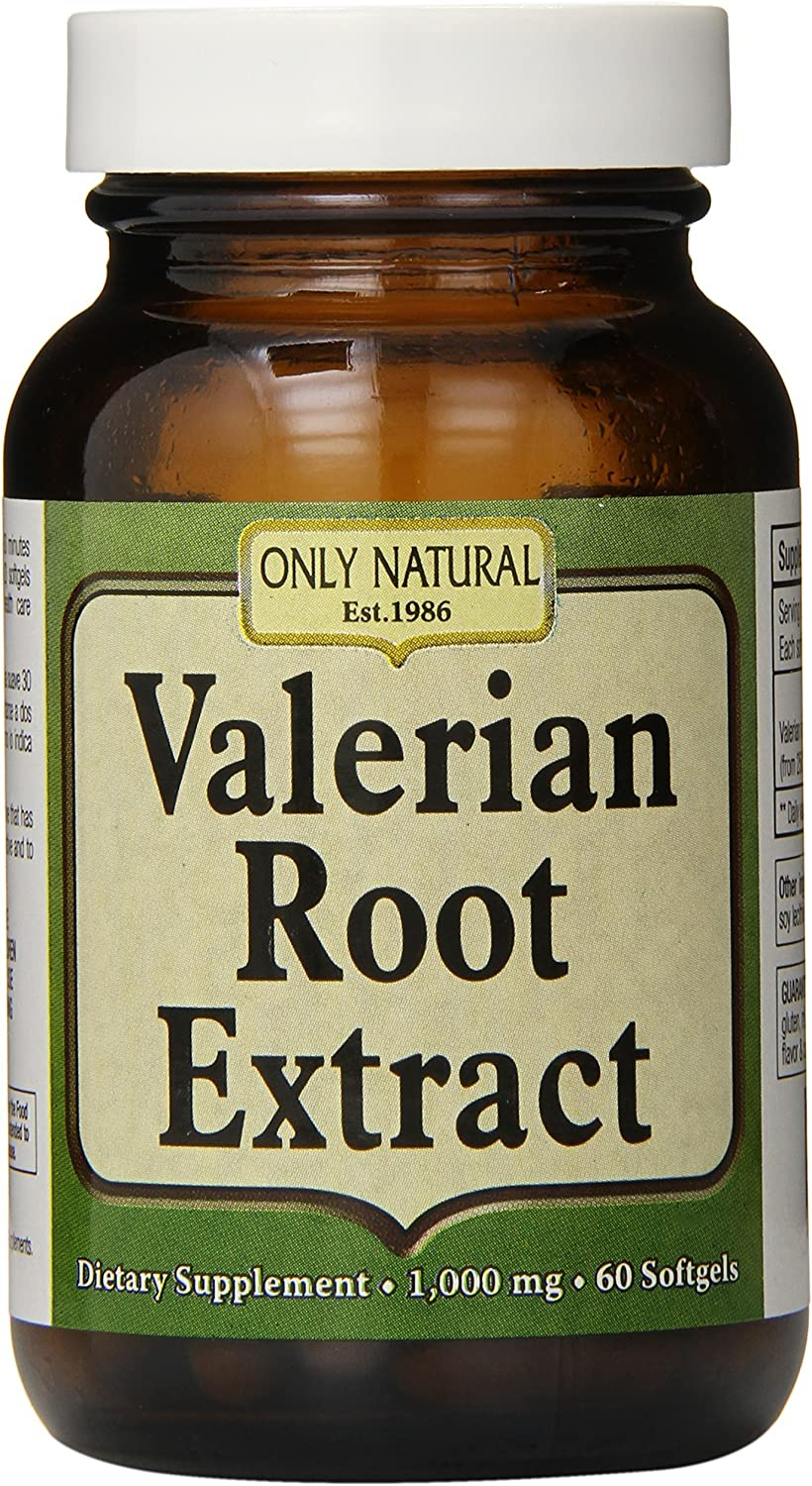 Austin Mall Only Natural Valerian Root Softgels 1 Clearance SALE Limited time mg Count 60 000