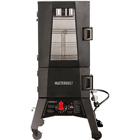 "Masterbuilt MB20050716 Mps 330g Propane Smoker, 30"" Thermotemp"