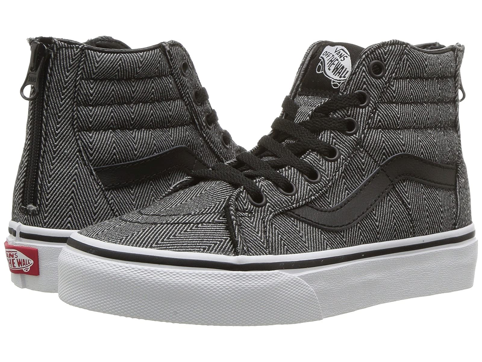 Vans Kids Sk8-Hi Zip (Little Kid) Kid/Big Kid) (Little 2a06dc