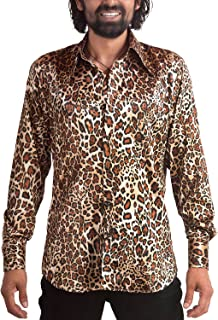 acheter populaire 86949 f34f1 Amazon.fr : chemise homme leopard