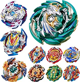 teraut Gyros 10 Pieces Pack، Battling Top Battle Burst Set High Performance، Birthday Party School Gift Ideas Toys for Boys Kids Children 8 years