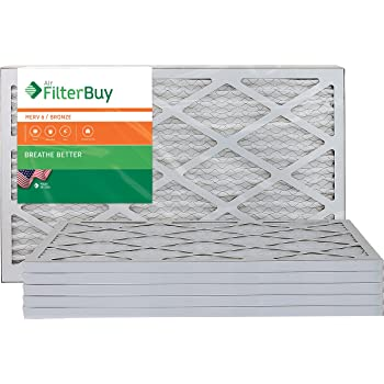 Nordic Pure 19/_1//4x23/_1//4x1 Exact MERV 13 Tru Mini Pleat AC Furnace Air Filters 1 Pack
