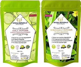 Avoka Naturals Amla And Bhringraj powder Combo Pack 100gm each