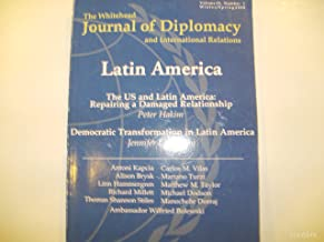 The Whitehead Journal of Diplomacy and International Relations : Volume 9, No. 1 Winter/Spring 2008 (Latin America)