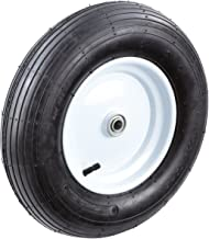 Tricam Farm and Ranch FR2020 Pneumatic Replacement Turf Tire for Hand Trucks and Lawn Carts, 16-Inch
