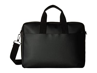 Lacoste Classic Computer Bag (Black) Computer Bags