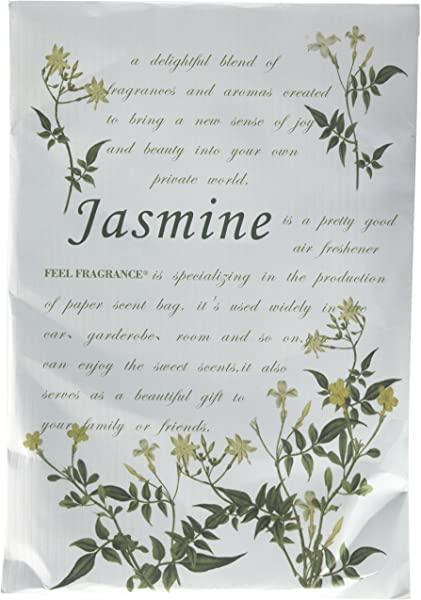 Feel Fragrance Scented Sachet For Drawers And Closets Lot Of 4 Jasmine