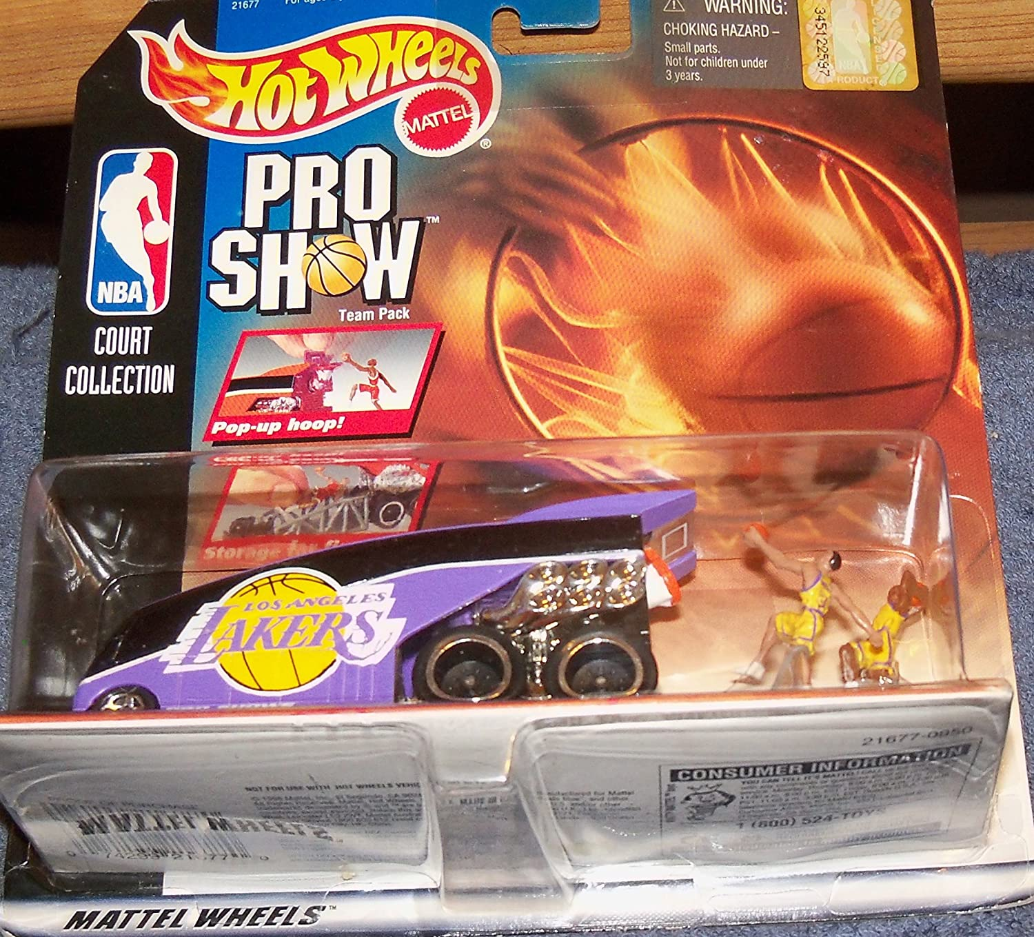 Hotwheels Pro Show Nba Court Collection Los Angeles Lakers