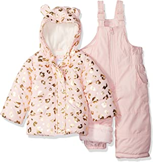 Carters Girls 2-Piece Heavyweight Printed Snowsuit