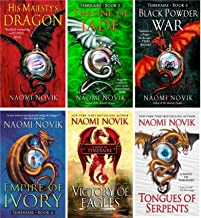 The Temeraire Series Collection Set (His Majesty's Dragon, Throne of Jade, Black Powder War, Empire of Ivory, Victory of E...