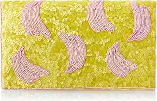 From St Xavier Women's Bananas Clutch, Pink/Yellow, One Size