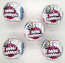 5-Surprise Mini Brands Collectible Capsule Ball by Zuru – 5 Ball Bundle