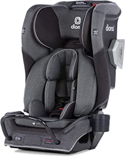 Diono Radian 3QXT Latch, All-in-One Convertible Car Seat, Gray Slate