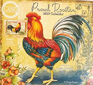 2019 The Lang Proud Rooster Special Edition Wall Calendar