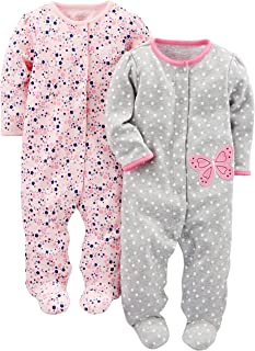 Simple Joys by Carter's Baby Girls' 2-Pack Cotton Snap...