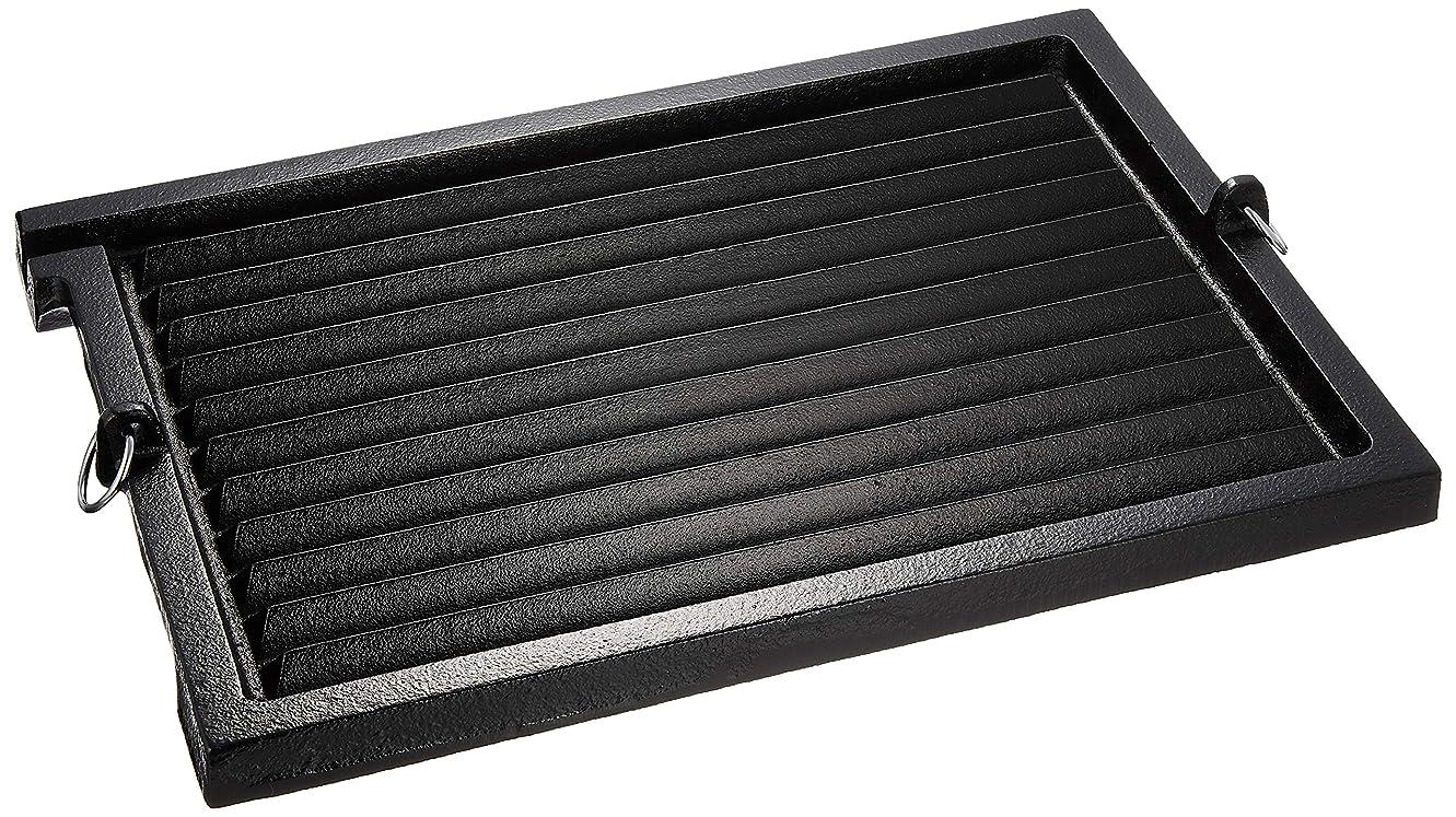 みなさん規定分泌する遠藤商事 業務用 角グリルパン 大 鉄鋳物 AGL06001