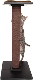 Ultimate Cat Scratching Post   Modern Cat Tree - Tall Cat Tree for Full Stretch   Ideal Cat Scratcher WITH Soft Cosy Cat Perch Cat Bed   Elegant Cat Scratching Post for Large Cats and Kittens Alike